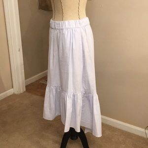 Baby Blue Zara Skirt with Pockets